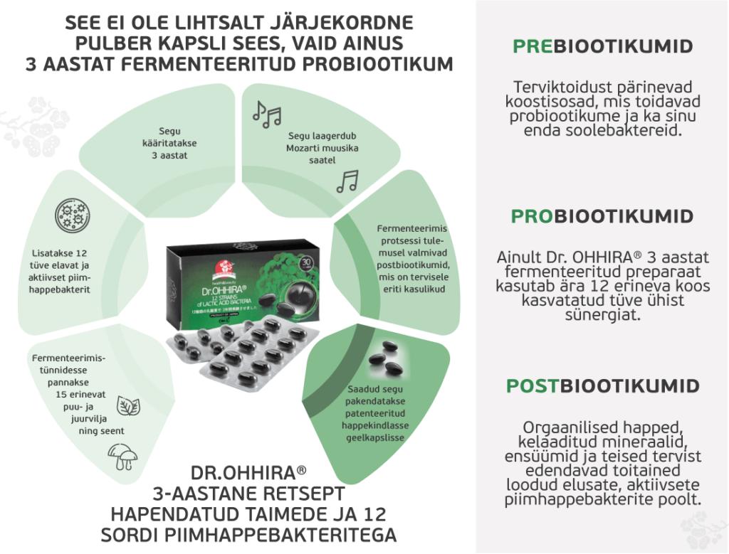 Probiootikumide tootmisprotsess