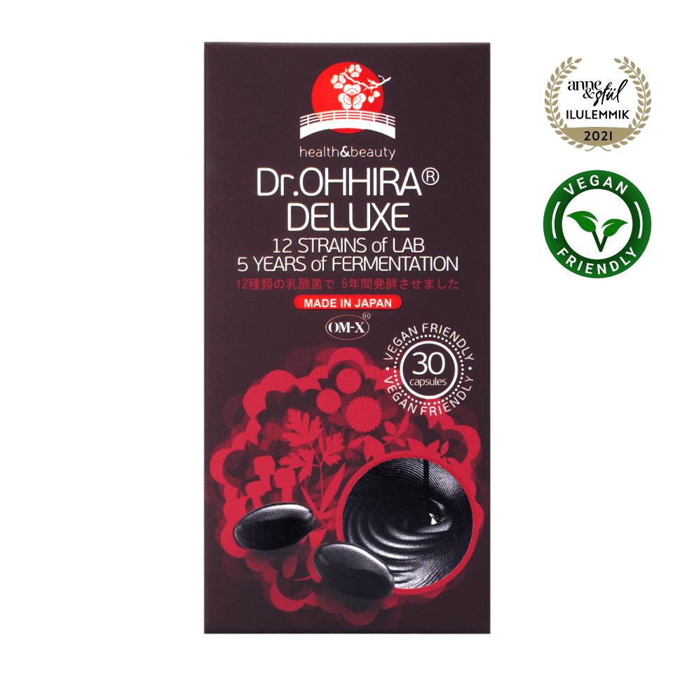 Dr.Ohhira Deluxe probiootikum auhindadega