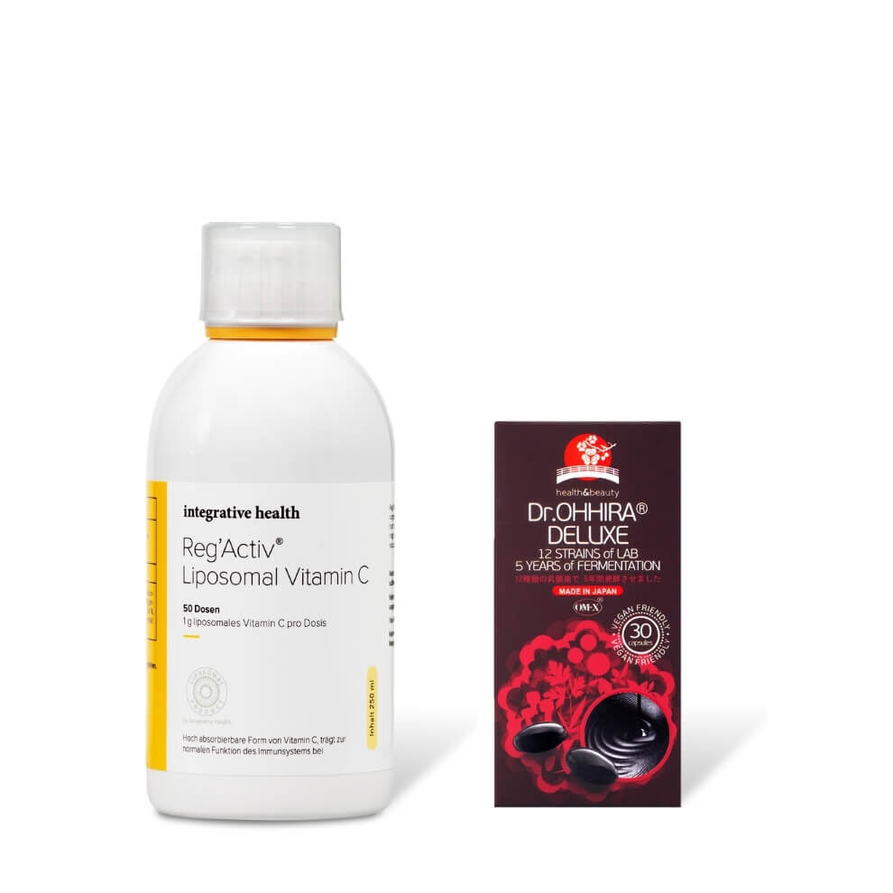 Integrative health lipsoomne c-vitamiin ja ohhira Deluxe probiootikum