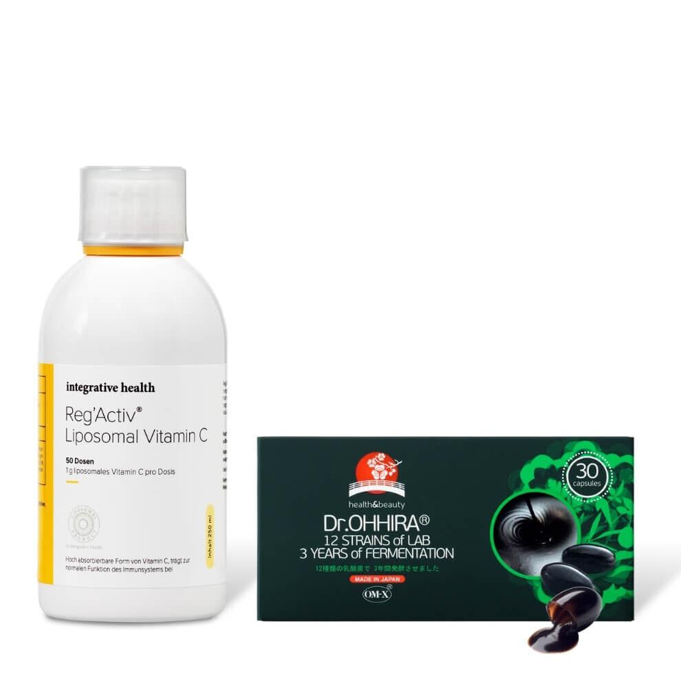 Integrative health lipsoomne c-vitamiin ja ohhira probiootikum n30